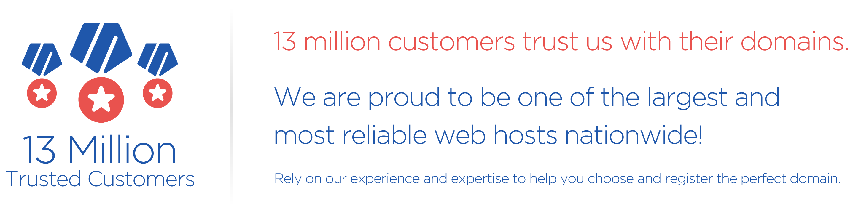 13 million trusted customers